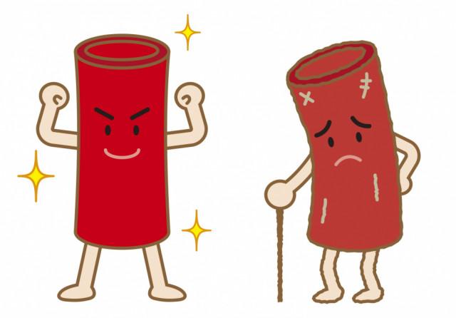 血液の流れイラスト