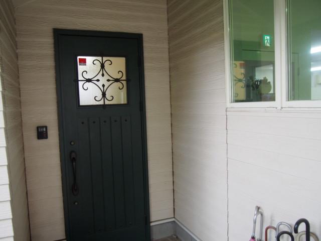 スタジオ玄関